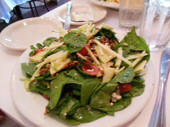 Cirinos At Main Street: Spinach Salad