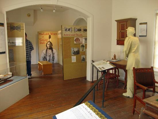 Fort Buford State Historic Site: Exhibits on Sitting Bull's Surrender