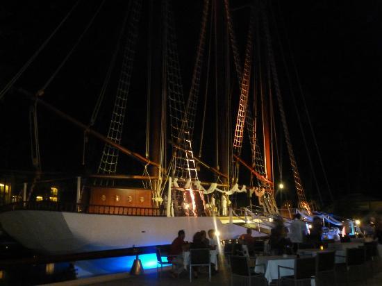 Iberostar Grand Hotel Bavaro: Boat/Club on Resort