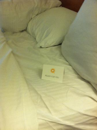 La Quinta Inn Killeen: Ready for You card closer look.
