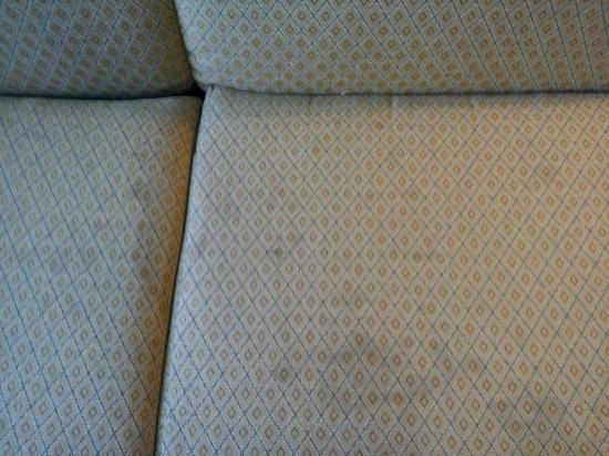 Residence Inn Killeen : Stained couch cushion in room