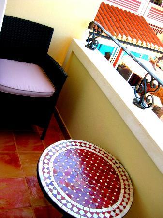 هوتل سا باريرا: balcony