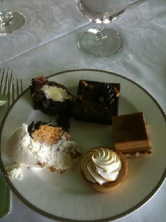 The Circular: selection of brunch desserts