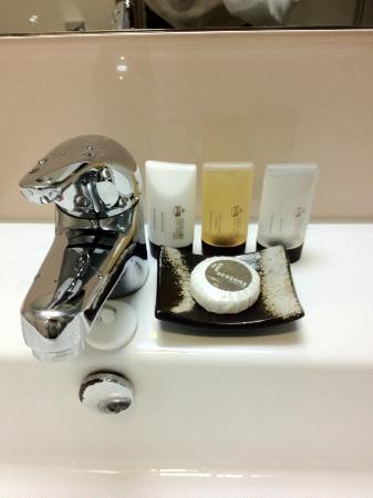 Auckland City Hotel-Hobson St: Bathroom amenities