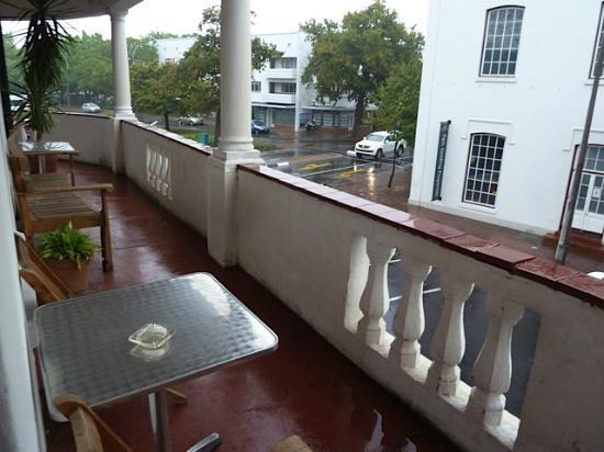 de Oude Meul Guest House: A nice balcony