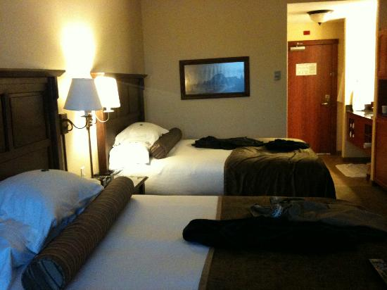 The Cody Hotel: Double Queen room