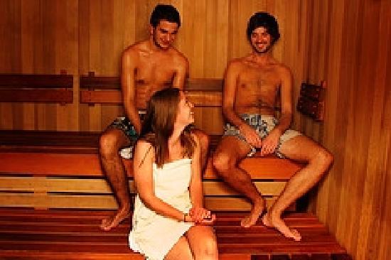Nomads Queenstown Backpackers: Sauna