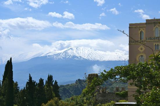 Belmond Grand Hotel Timeo: Gorgeous views of Mount Etna