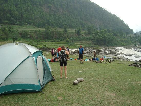 Himalayan Single Track: Pedal/Paddle Campsite