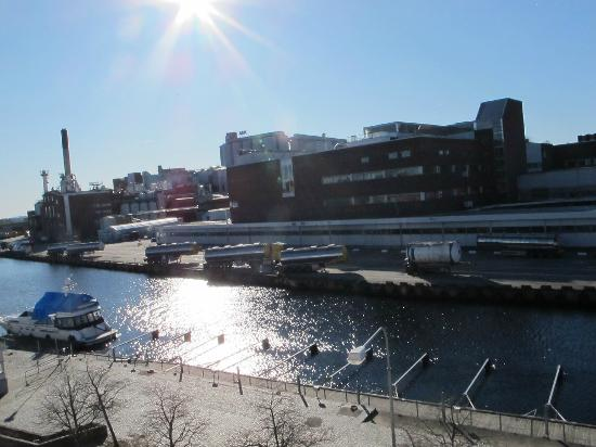 First Hotel Carlshamn: view from my room