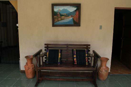 Posada Don Rafael: On the ground floor of the hotel
