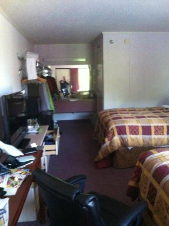 Branson Yellow Rose Inn and Suites: Big room (excuse the mess)
