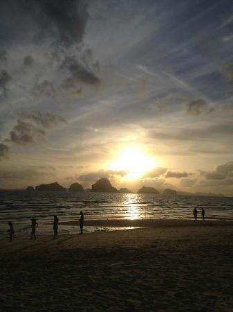 Amari Vogue Krabi: Sunset on the private beach