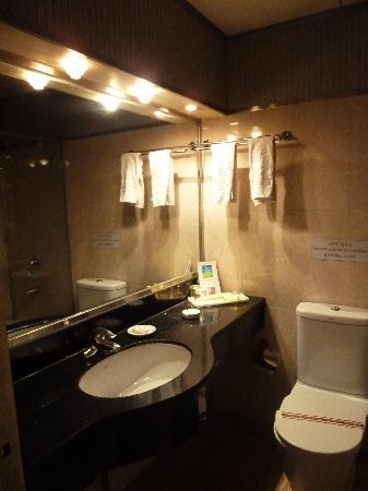 Camellia Hotel : bathroom