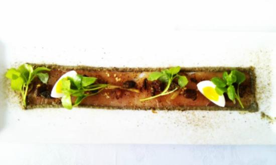 Jordan Restaurant : Smoked yellowtail
