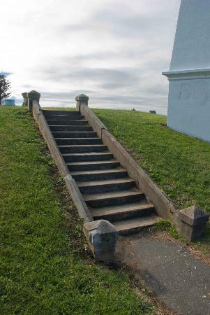 The Obelisk: More steps