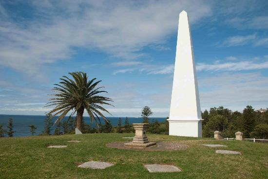 Greater Newcastle, Australië: At The Obelisk
