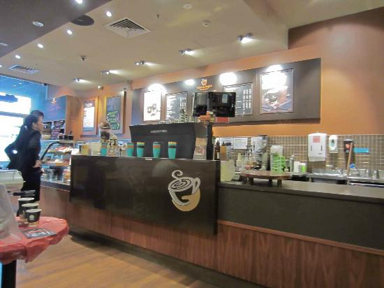 Gloria Jeans: Cafe counter