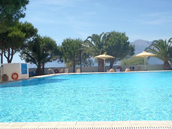 Airotel Achaia Beach : mooi groot schoon zwembad