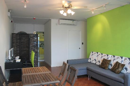 Parkview Hostel: Our common area
