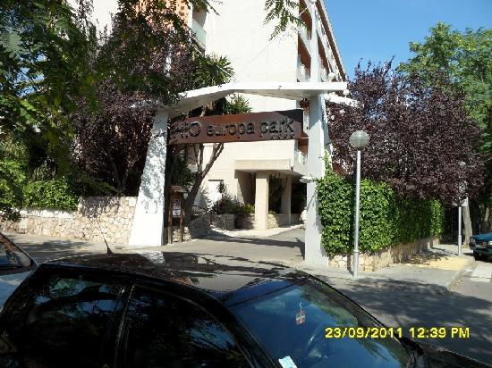 H10 Vintage Salou: Front of Hotel