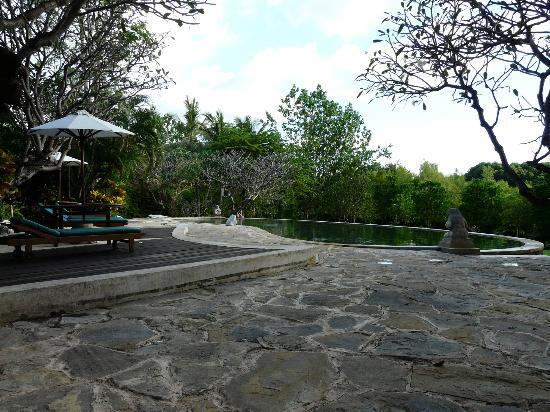 Mimpi Resort Menjangan: une des deux piscines
