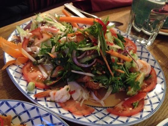 Thai Spice: Seafood Salard