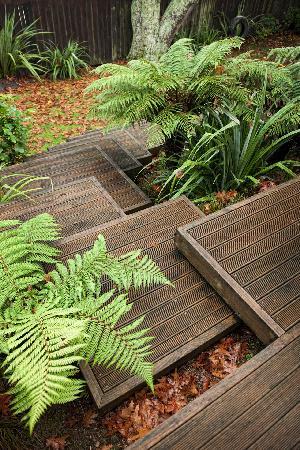 بي آند بي آت ذا ريدوودز: Steps by Deck