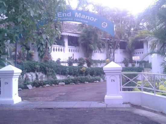 Rock-End Manor : entrance