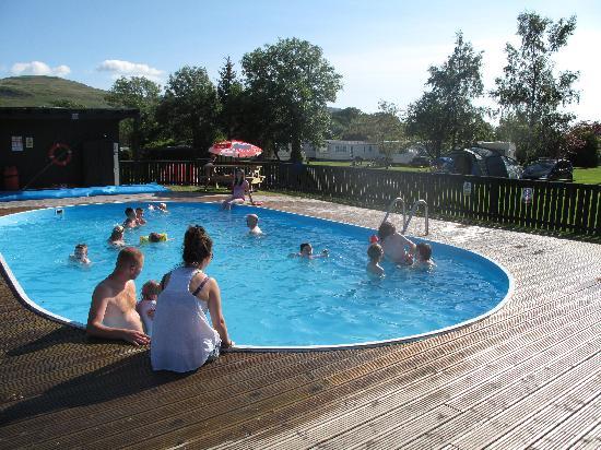 Campsie Glen Holiday Park Fintry Scotland Campground