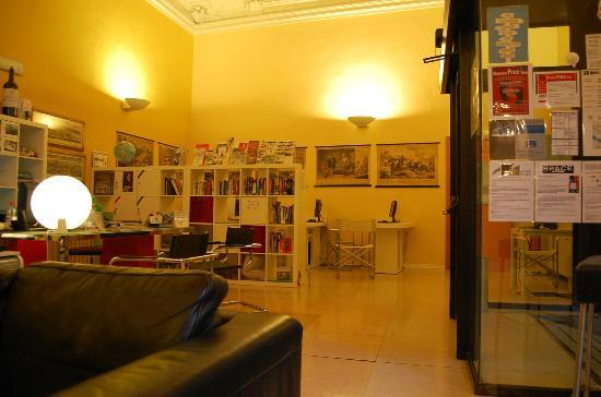 Academy Hostel Lobby