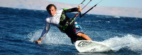Canyon Estate Dahab Beach Hotel Residence: kitesurfing schhol