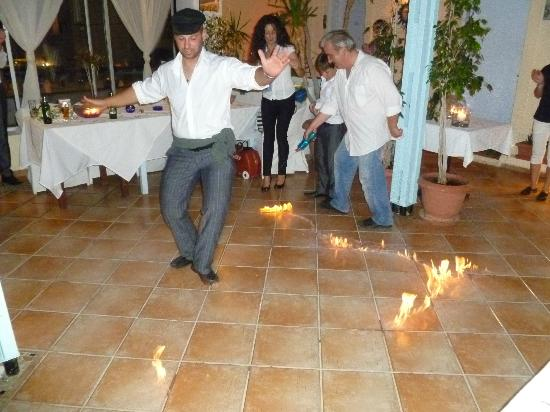 Wedding Reception Zorbas Music And Dances In Traditional Greek Way