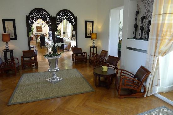 La Villa Cap d'Antibes : Lobby