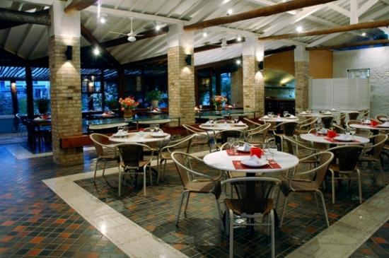 Restaurante Azul - Hotel Canto das Águas - Lençóis - Chapada Diamantina - BA