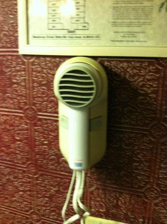 Vacationland Inn: Bring your own hair dryer