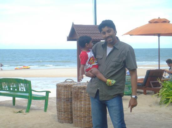 Marriott Hua Hin Resort & Spa: The beach
