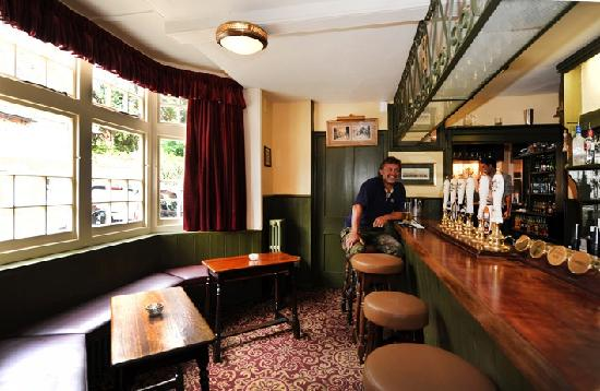 The Stag & Huntsman at Hambleden: One of the bars