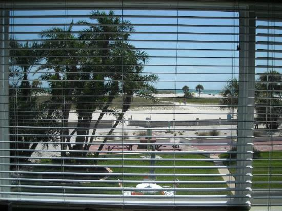 Tropic Terrace of Treasure Island: Front Window View