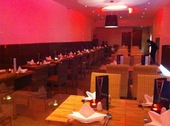 Cha Chy: modern restaurant