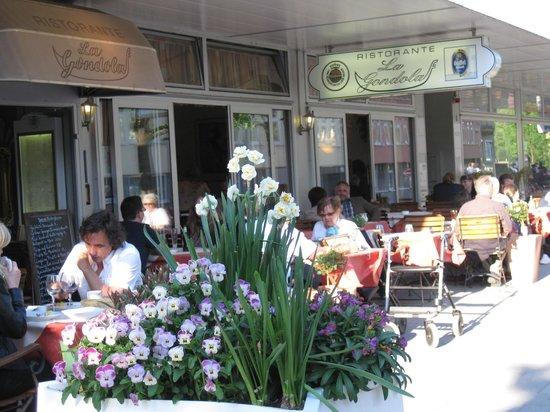 Restaurant La Gondola : Outside Terrace