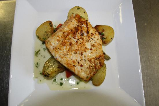 The Plough at Bradford Leigh: One of our fish dishes