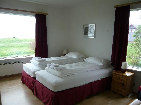 Hali Country Hotel: Chambre n°15 avec vue sur la mer