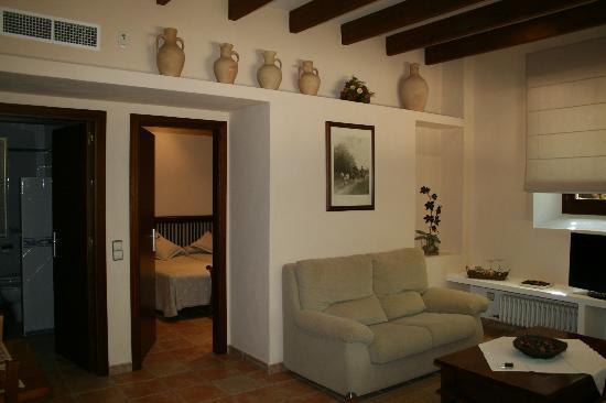 Agroturismo Alfabia Nou: Lounge area