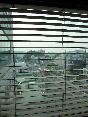 Prime in Seoul Hotel: Daytime view from room