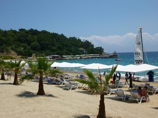 Club Med Bodrum Palmiye : la plage