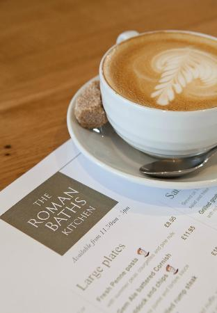 Coffee at the Roman Baths Kitchen