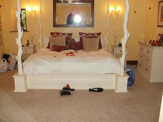 The beautiful bed!