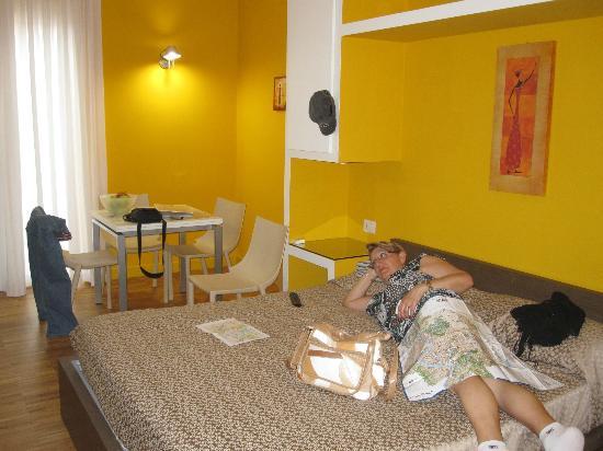 Ripetta 25: la cama comodisima