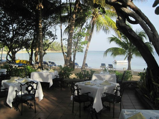 Seagrape Terrace restaurant, Half Moon Resort, Jamaica